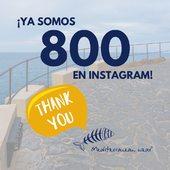¡Hoy hemos llegado a los 800 seguidores en Instagram!  Os queremos dar a todos las gracias por acompañarnos en este camino.  Continuamos trabajando para extender el estilo Mediterranean Wear a todas partes!  www.mediterraneanwear.com  #seguidores #800 #celebracion #turopaestáaquí #followforfollowback #mediterraneanwear #saramarc #MyLloret