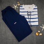 Dicen que en abril aguas mil 🌧.  Ya ha acabado abril. Ahora… ¡queremos sol ☀️, mar 🌊 y playa 🏖!  ¿Te sumas a nuestra reivindicación?  Entra ya a 👇  www.mediterraneanwear.com  ¡y empieza el verano! 🔝  #azul #azulmarino #ropa #mediterraneo #mar #mediterraneo #playa camisetas #pantalones #algodon #estrellas #saramarc  #mediterraneanwear  #MyLloret